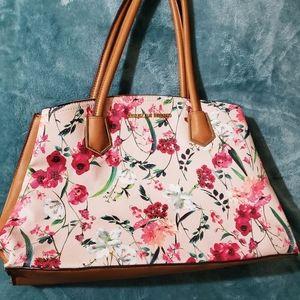 Christian Siriano Floral Handbag
